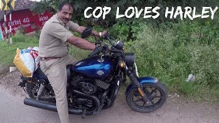 CAUGHT BY KARNATAKA COPS | COPS LOVE THE HARLEY DAVIDSON