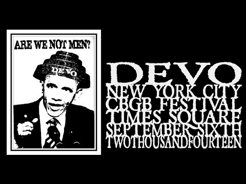 Devo - 3rd Annual CBGB Music & Film Fest 2014