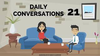 Actions - Daily Life & Work - 21 - English Lessons for Life - Daily English Lessons