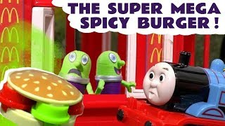 Learn Colors with McDonalds Pretend Play Food and Funny Funlings TT4U