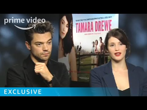 Gemma Arterton and Dominic Cooper Talk Tamara Drewe