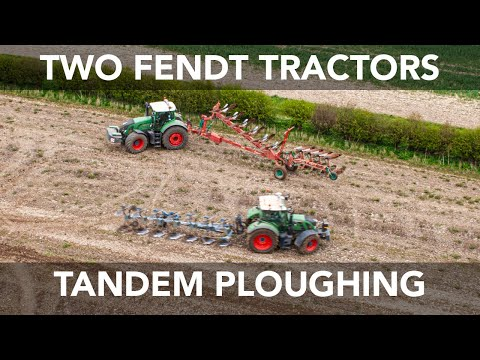 Here is something a bit different. We decided to have a go a ploughing in tandem and it ended up making quite a cool video. While we don't normally plough li...