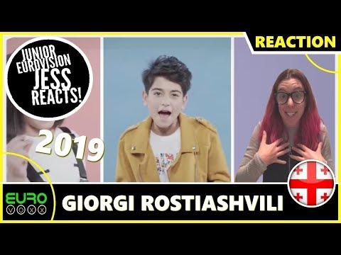 GEORGIA JUNIOR EUROVISION 2019 REACTION: Giorgi Rostiashvlli - We Need Love | JESS REACTS!