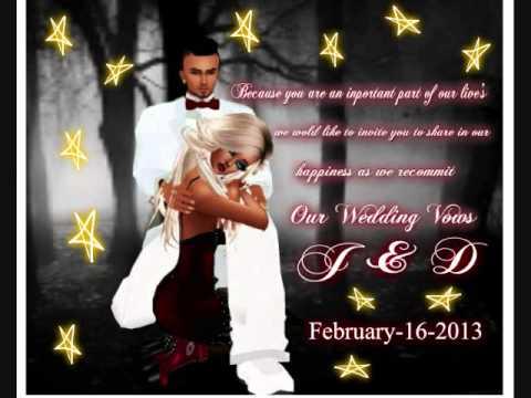 imvu wedding invitation - YouTube