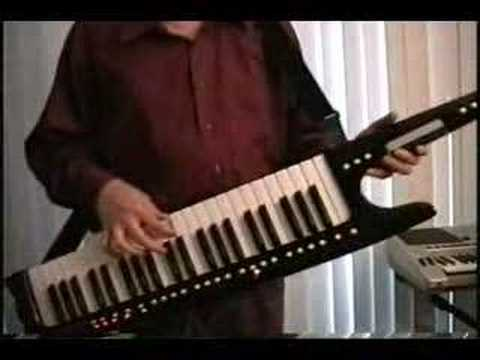 Majic Conner Shredding on a Keytar