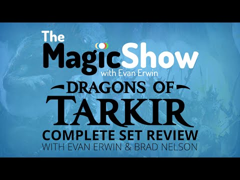 Dragons of Tarkir Complete Set Review - Blue/Silumgar!