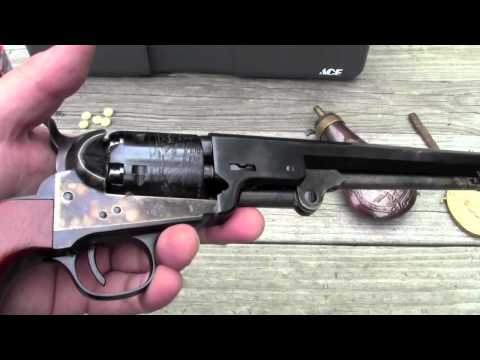 Light springs in an 1851 Navy revolver