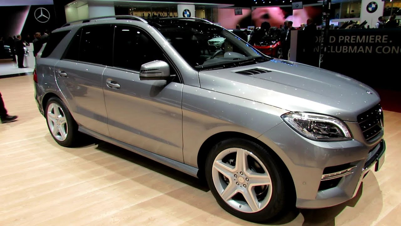 Mercedes Benz Ml Class Mlmatic Exterior And Interior Walkaround Youtube