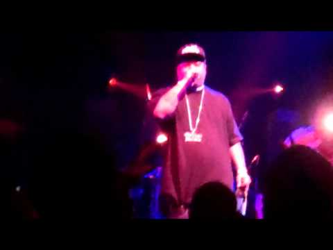 Big Sloan and Mo thugs Family live on stage @ galaxy theater March 26 2011