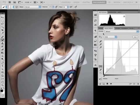 Retusz portretu w stylu fashion [tutorial Photoshop]