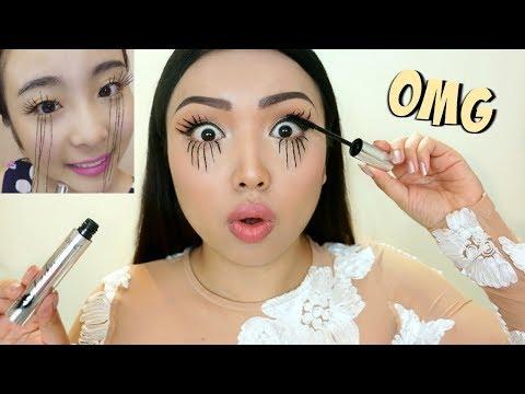EXTREME LASHES Viral Asian Mascara Tested !!! thumbnail