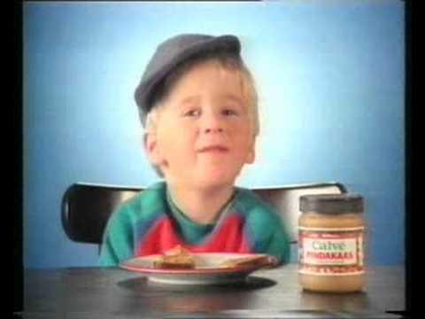 (Petje Pitamientje) Calvé Pindakaas reclame uit de jaren 80 (Nederlands)