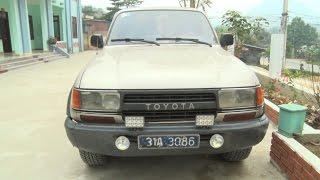 Tuyên Quang bắt giữ xe ô tô biển xanh vận chuyển gỗ quý trái pháp luật