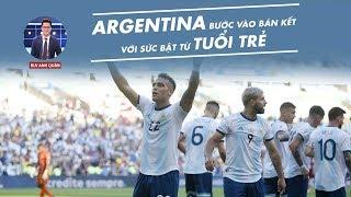 ARGENTINA BƯỚC VÀO BÁN KẾT VỚI SỨC BẬT TỪ TUỔI TRẺ