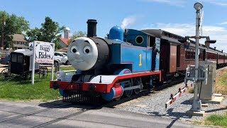 Thomas The Tank Engine, Percy, Thomas In Real Life!