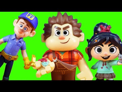 Ralph Breaks The Internet : Huge Wreck It Ralph 2 Toy Collection ! Just4fun290 Toys