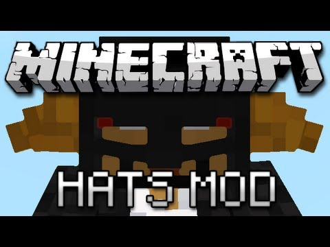 Minecraft: It May As Well Be TF2 (Hats Mod Showcase) - Smashpipe Games Video