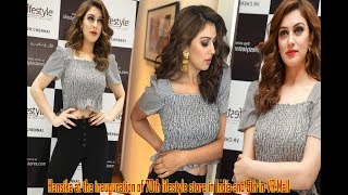 Hansika at the inauguration of 70th lifestyle store in India and 5th in VR Mall