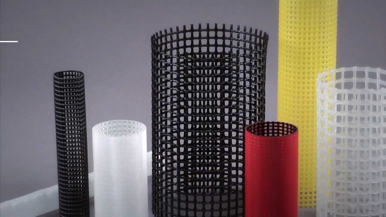 Extruded Amp Seamed Plastic Mesh Tubing Youtube