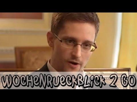 Drama um Snowden - Krieg im Pazifik? | Wochenrückblick 2 go