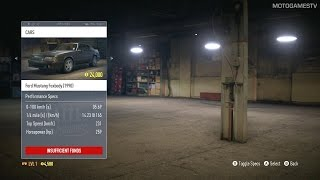 All Cars From Need For Speed 2015 (29.10.2015)