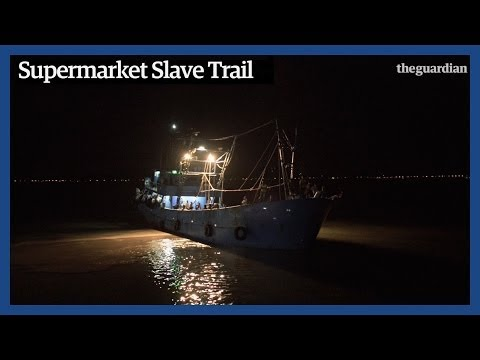 Slave Ships & Supermarkets: Modern Day Slavery In Thailand | Guardian Investigations video