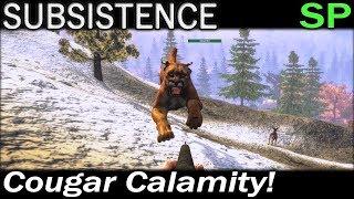 Cougar Calamity! | Subsistence Single Player Gameplay | EP 67 | Season 4