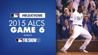2015 ALCS Game 6 (Royals vs. Blue Jays) | #MLBAtHome