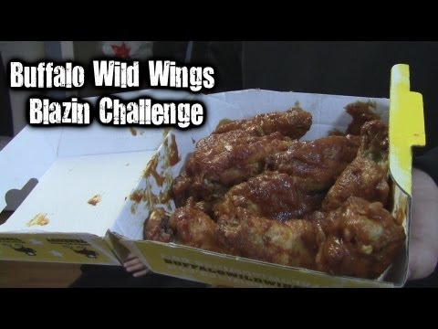 Buffalo Wild Wings Blazin Challenge