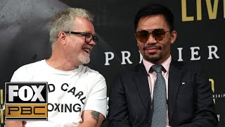Freddie Roach: Keith Thurman 'is not that hard to fight'   PBC ON FOX