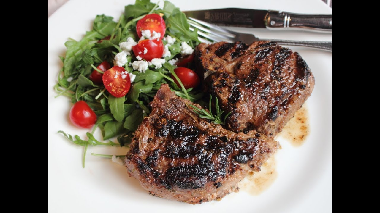 Grilled Rosemary Lamb Chops - 4 Ww Pts Recipes — Dishmaps