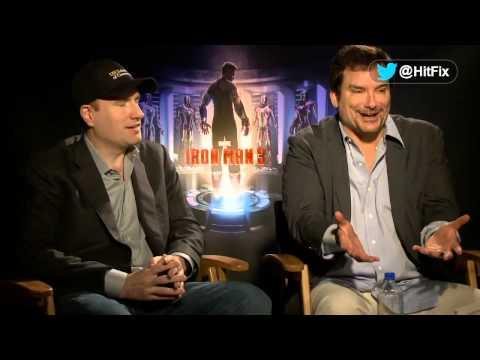 Iron Man 3 - Kevin Feige & Shane Black Interview