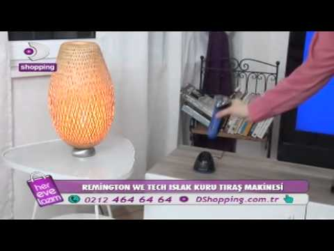 DSHOPPING REMİNGTON WE TECH ISLAK KURU TIRAŞ MAKİNESİ