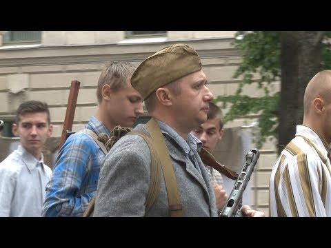 Партизанский парад 1944 года в Минске