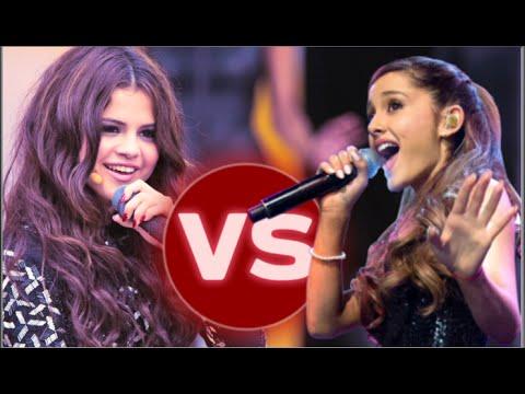 Ariana Grande Vs. Selena Gomez (LIVE RAP BATTLE)