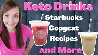 Keto Drink Recipes????Copycat Starbucks Recipes & More