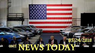 U.S. Launches Auto Import Probe, China Says Will Defend Interests | News Today | 05/24/2018 | D...