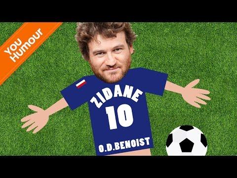 Olivier de Benoist se prend pour Zidane