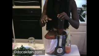 Product Review: The Hamilton Beach Big Mouth Juice Extractor -- Part 2 - Juicing