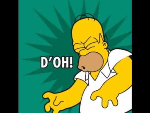 D Oh Homer Simpson