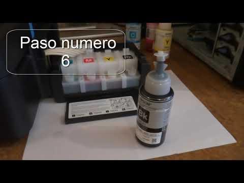 Mi nueva impresora Epson L210 contenido e instalacion completa 2/4