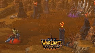 Orc Campaign All Cutscenes | Warcraft 3 Reforged The Invasion of Kalimdor