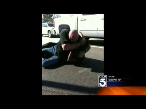 Bloody Road Rage Fight on the 405 Freeway, Caught on Video