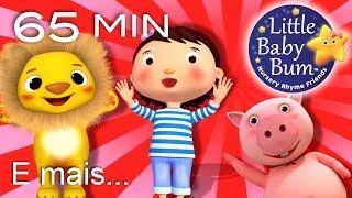 Canções infantis para cantar | E muitas mais Canções de Ninar | LittleBabyBum!