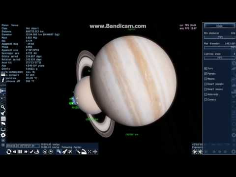Space Engine Solar System Scale