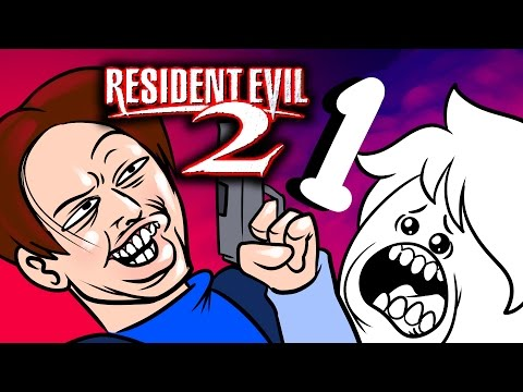Oney Plays RESIDENT EVIL 2 With Pals - EP1 - Makin' our way downtown