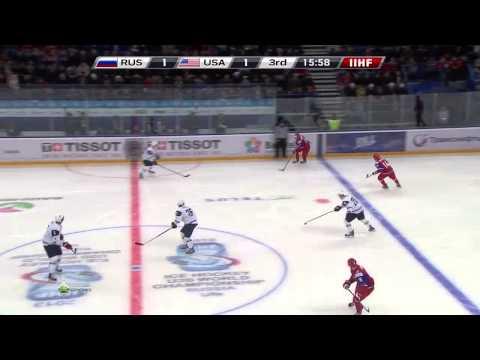 Russia - USA 2:1 U20 IIHF WJC 2013 █ Россия - США Молодежный чм