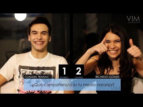Cara a cara: Ricardo Gómez y Claudia Traisac