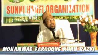 ahle quran firqa(quranist group) exposed by mohammad farooque khan razvi part 6.flv