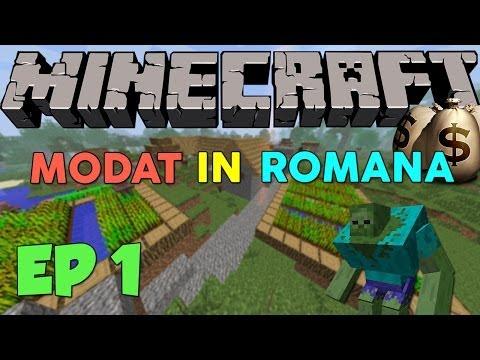 Minecraft Modat - [Ep.1] - Pregatiti-va! - Romania